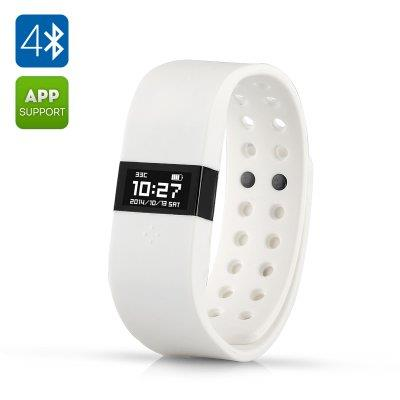 DIGICare ERI Touch Screen Smart Bracelet - 0.49 Inch OLED Display, Blu