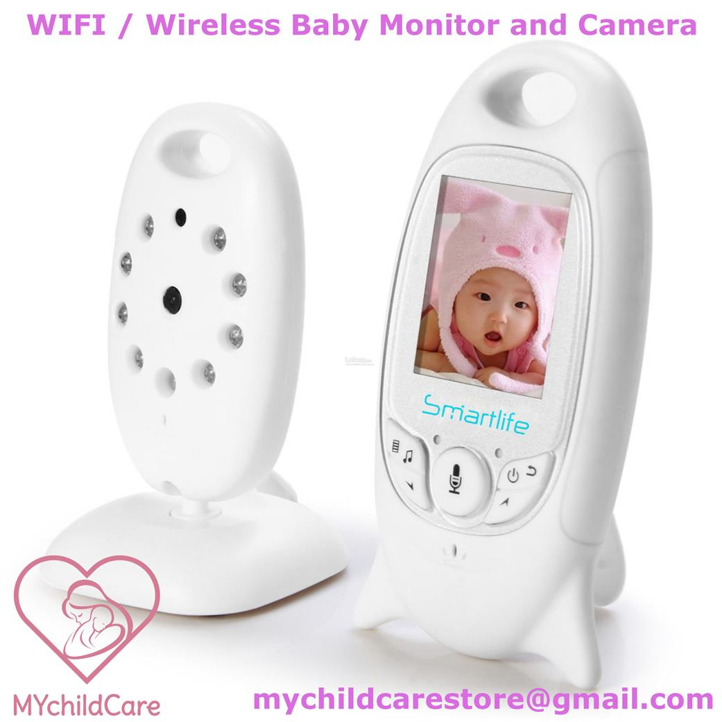 DIGITAL BABY MONITOR WITH CAMERA WIRELESS NIGHT VISION