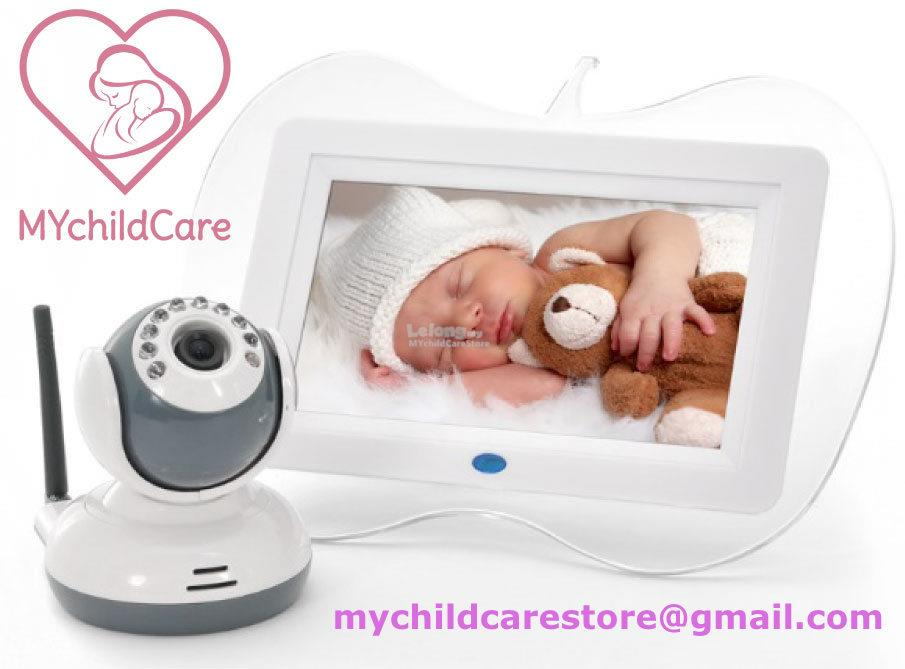 DIGITAL BABY MONITOR WIRELESS WITH NIGHT VISION AND RECORDING