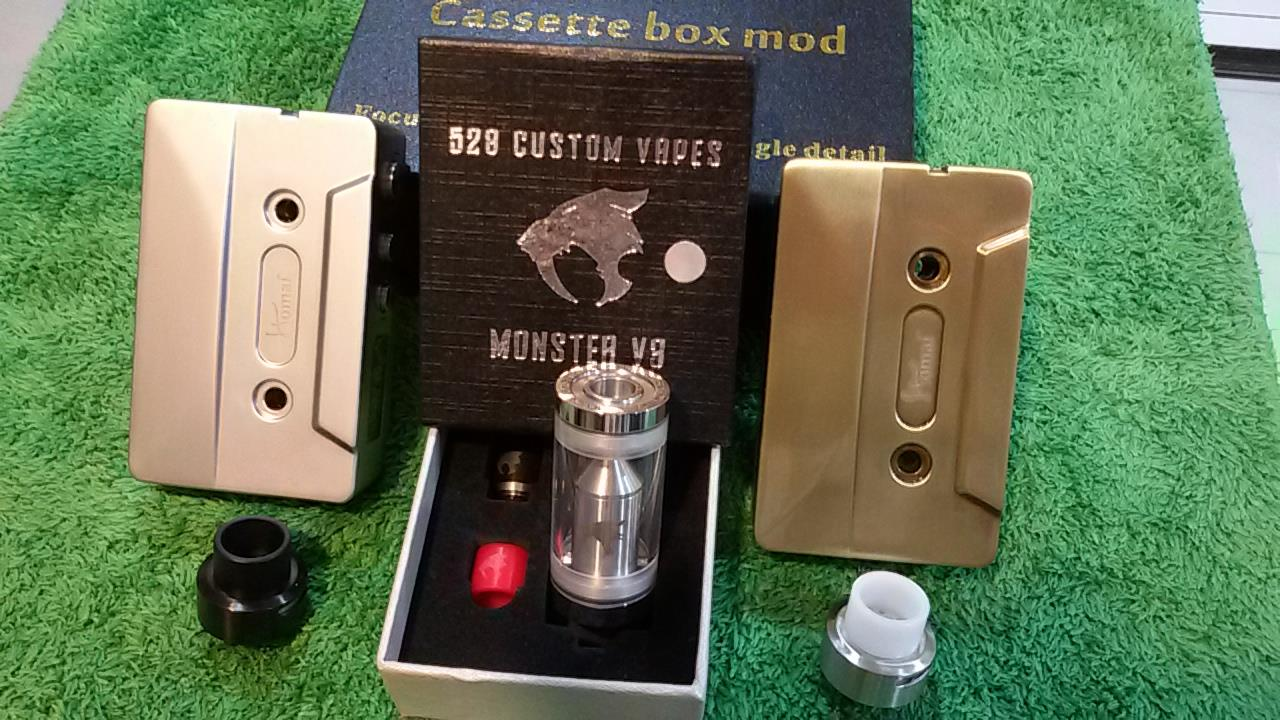 Digital Casette Mod 50 Watt Set Promotion - Vape item/ E- cig