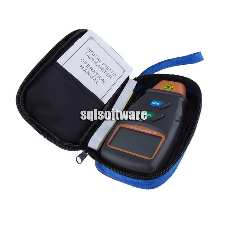 Digital Non-contact Tachometer DT-2234C+
