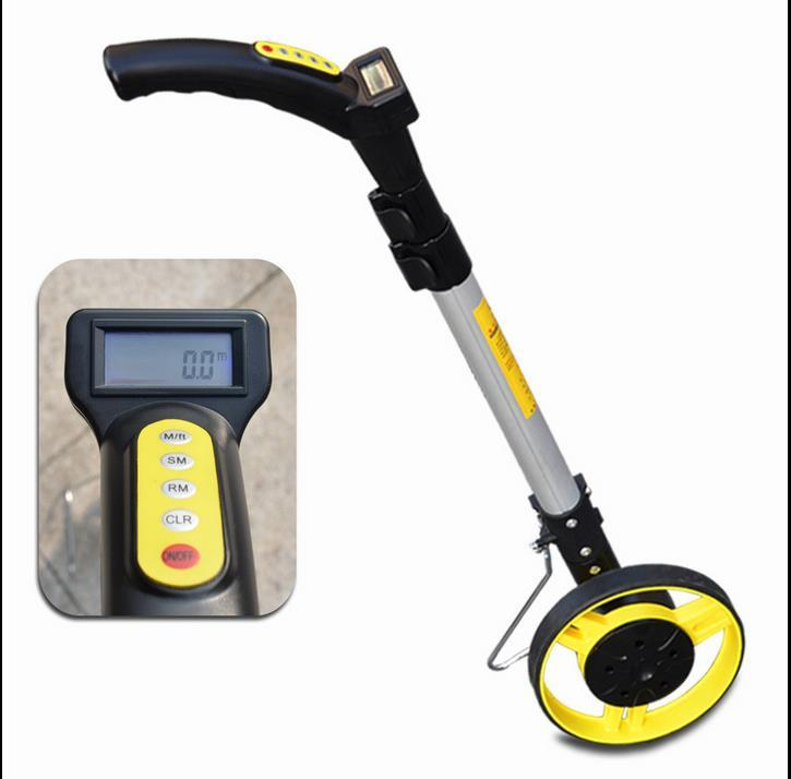 Digital Distance Measuring Instruments : Digital distance measuring wheel ws end  am