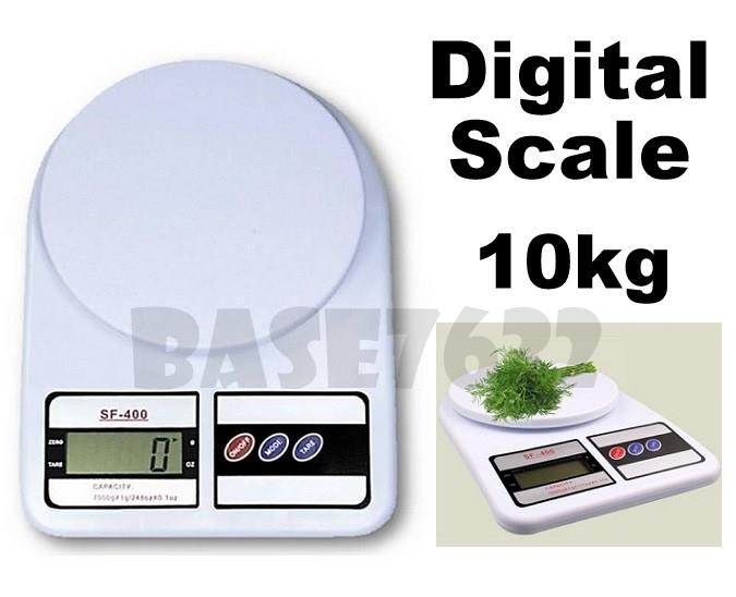 Digital  Electronic Portable Kitchen Weighing Scale 1g - 10kg Scale