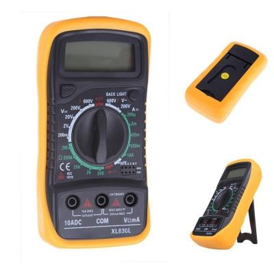 Digital LCD Multimeter Voltmeter Ammeter AC DC OHM Test Current