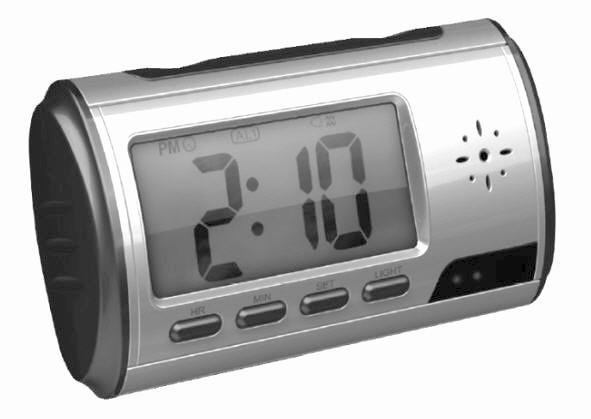 DIGITAL LED CLOCK WITH HIDDEN CAMERA PLUS 4GB MEMORY CARD !