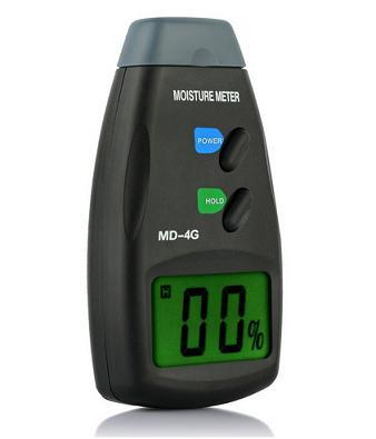 Digital Moisture Meter MD Wood Moisture Detector with 4 Pin Probes