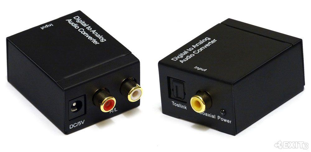 Digital Optical Coaxial Toslink SPDIF to Analog RCA Audio for XBOX One