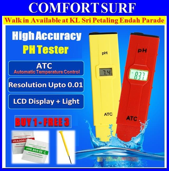 Digital PH Meter / Water / Aquarium Tester Kit with Casing Box + FREE