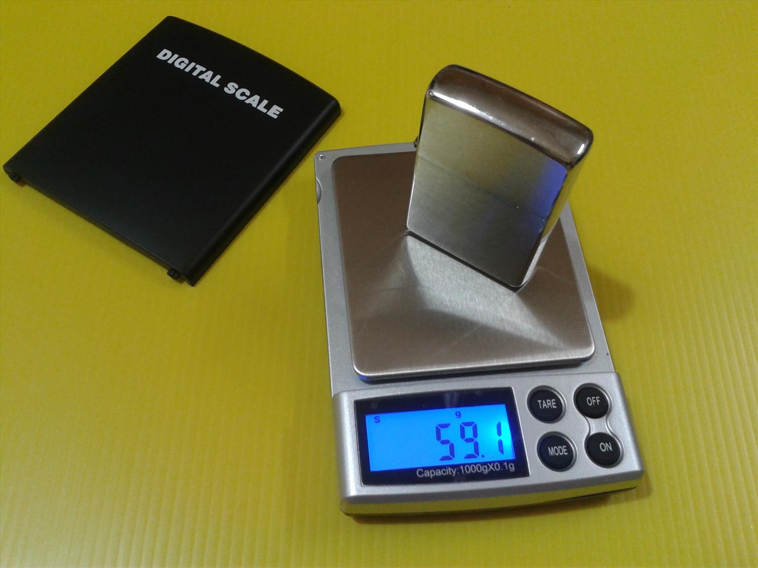 DIGITAL POCKET SCALE CAPACITY 2LB/1KG