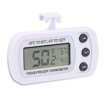 Digital Refrigerator/ Freezer Thermometer - White