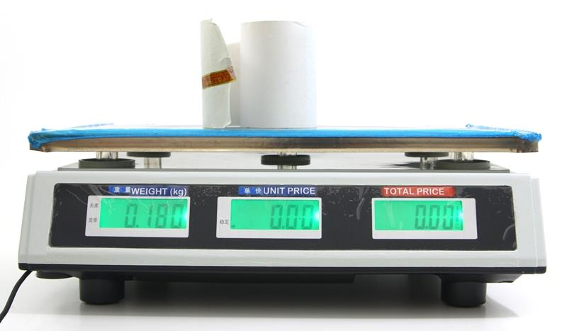 Digital Scale LED Display Two Side Fruit Vegetable Price Computing