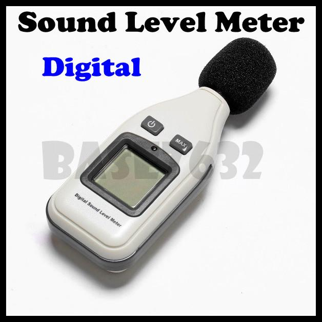 Digital Sound Level Meter Noise Measurer decibel Monitor Tester