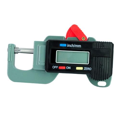 Digital Thickness Gauge Meter Tester Micrometer 0 to 12.7mm