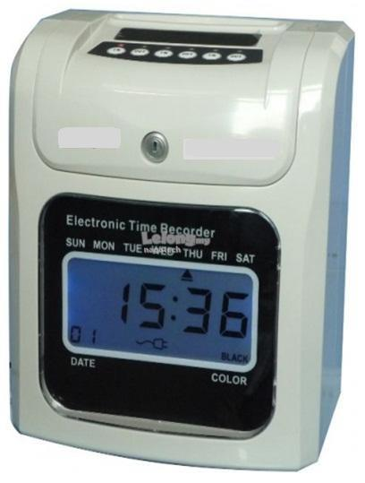 DIGITAL TIME RECORDER PUNCH CARD -HV