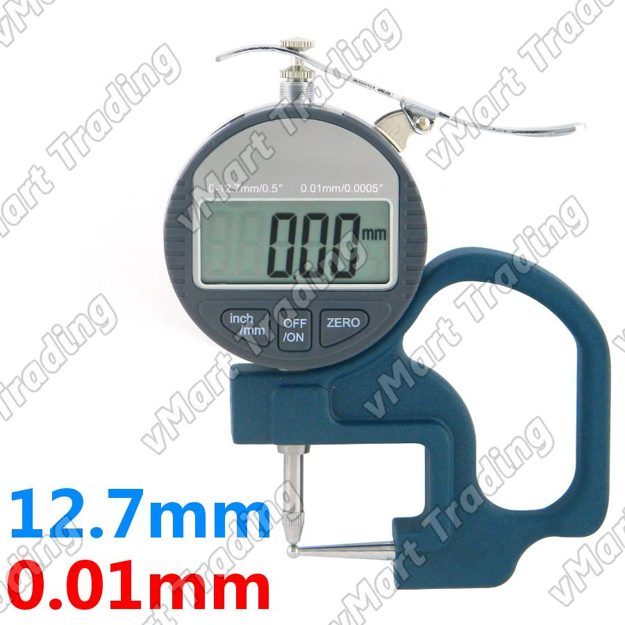 Digital Tube Thickness Gauge 0.8mm [0.01mm]