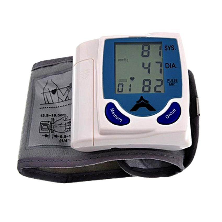 Digital Wrist Blood Pressure Monitor & Heart Beat Meter (HEA0023)