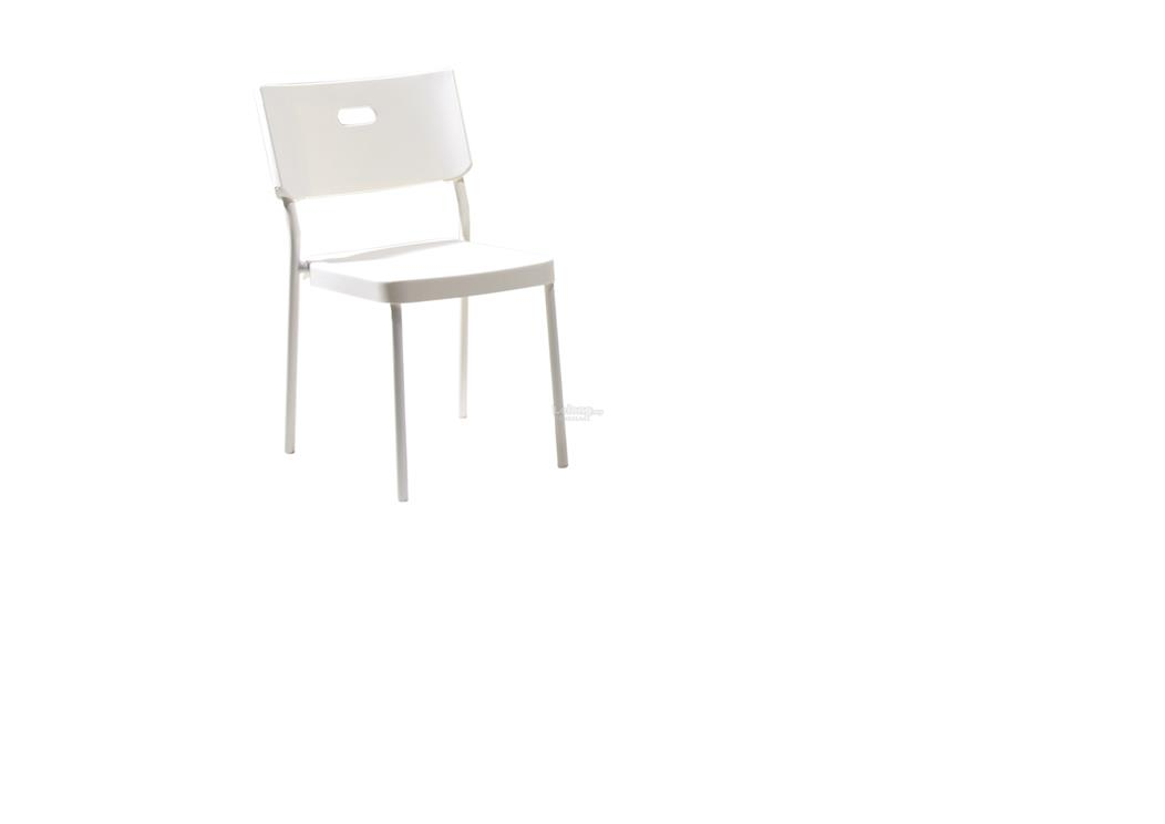 DINING CHAIR DC8008 WHITE