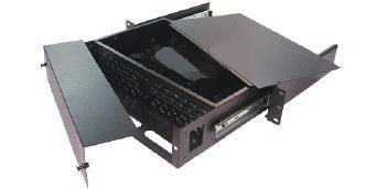 DINTEK Rack Mount Fiber Enclosure 24 Ports SC or ST or LC Panel