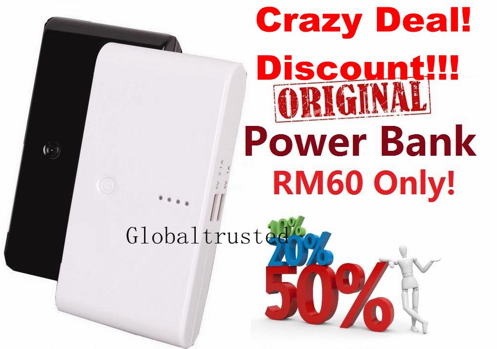 Discount Sales!  Super Power Bank Battery Samsung ipad iphone charger
