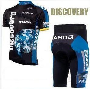 Discovery AMD cycling jersey + shorts