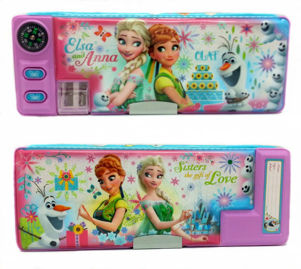 DISNEY FROZEN SISTER LOVE MAGNETIC PENCIL CASE * 24x9x3(CM)