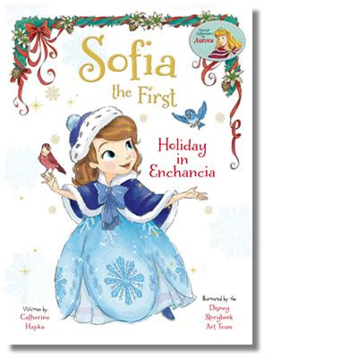 Disney Junior Sofia the First : Holiday in Enchancia storybook