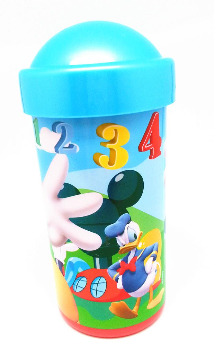 DISNEY MICKEY & FRIENDS TUMBLER WITH LID - BPA FREE * Genuine licensed