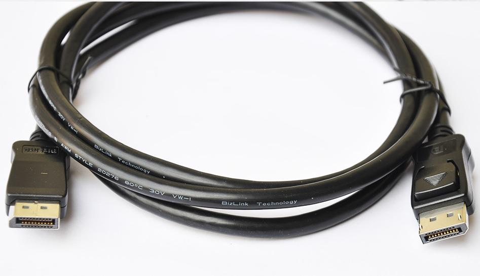 DisplayPort Male to DP Display Port Male Cable
