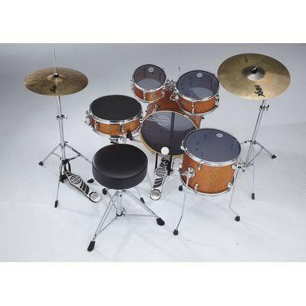 DIXON PODJSP516PKOS 5-PIECE DRUM SET (ORANGE SPARKLE)