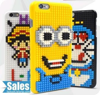 DIY ➤ Loz iPhone 6 Preassembled Minion Cartoon Casing Cover