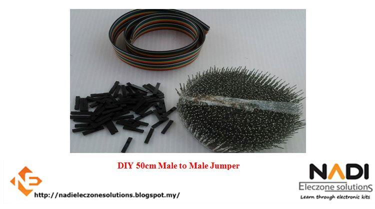 DIY 50cm Male to Male Jumper