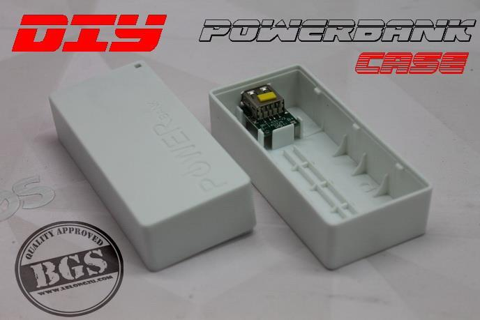 DIY POWERBANK ,5000mAH ~ 7000mAH batterybank case & board
