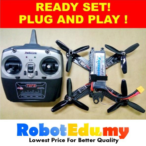 DIY Racing Drone Quadcopter FPV QAV210 RTF Plug & Play Starter Kit Set