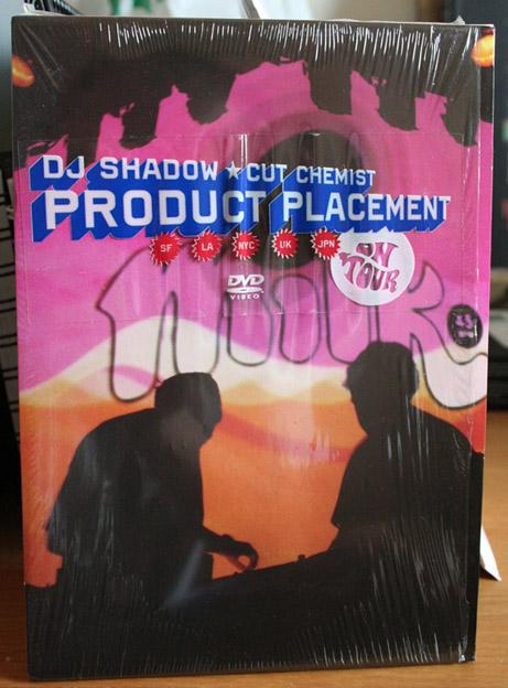 DJ Shadow Cut Chemist 'Product Placement' Concert CD+DVD