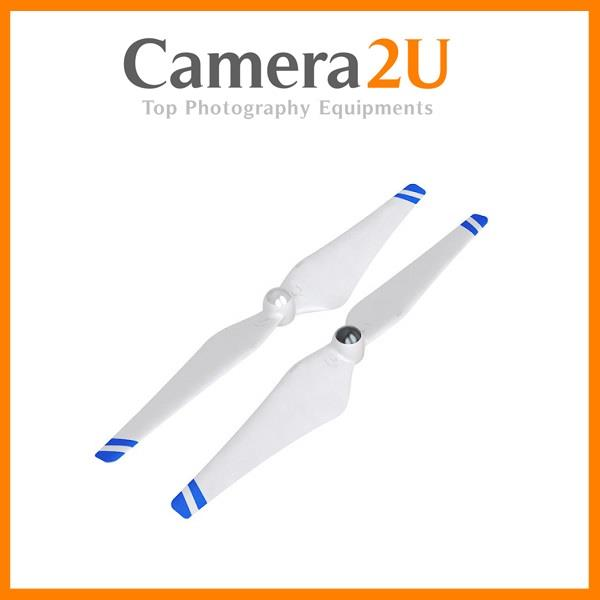 NEW DJI Self-Tightening Propeller Set with Blue Strips for Phantom3&2