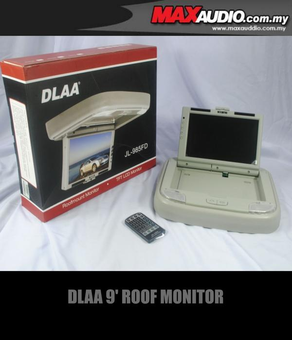 DLAA JL-986FD 9.2' 800x480 Full HD Beige Roof Monitor with Dome Light