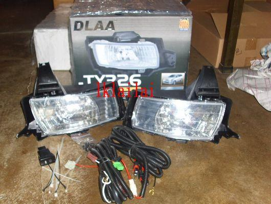 DLAA Toyota Wish '06 onwards Fog Lamp/Spotlight [9006 12V 55W]