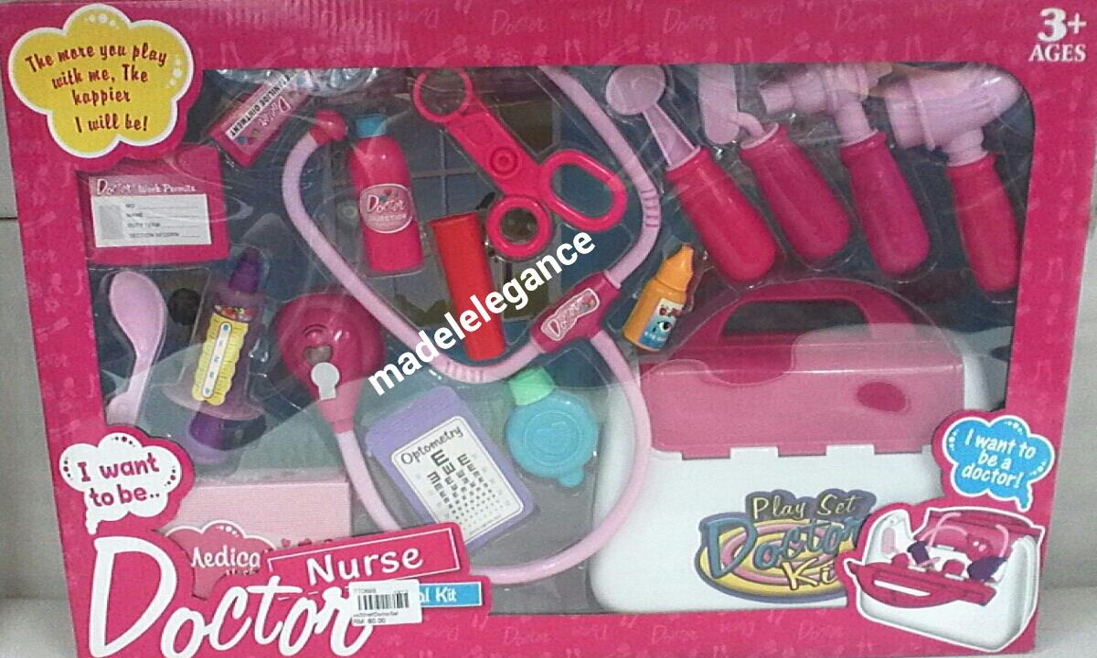 Doctor Nurse Medical Kit Toys for Kids Children