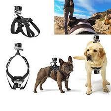 Dog Camera Mount Chest-Back Harness For GoPro Hero 4/3+/3/2/1