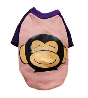 Dog Clothes / Apparel : Minky The Monkey Premium Small