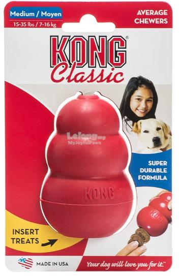 Dog Toy : Kong Classic Medium