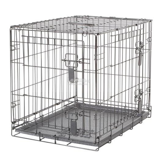 Dogit Two Door Wire Home Crates with divider - Small - 61 x 45 x 51 cm