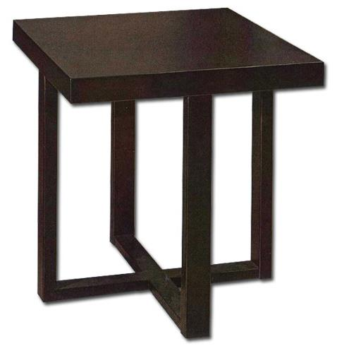 Donald SQ Wooden End Table
