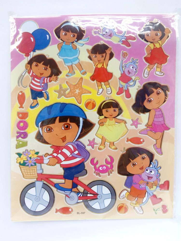 Dora the Explorer Stickers X 10 pieces