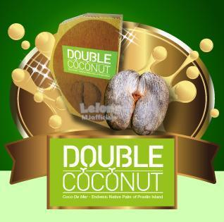 DOUBLE COCONUT | PROMOSI 1 SACHET | 100% DIRECT FACTORY |