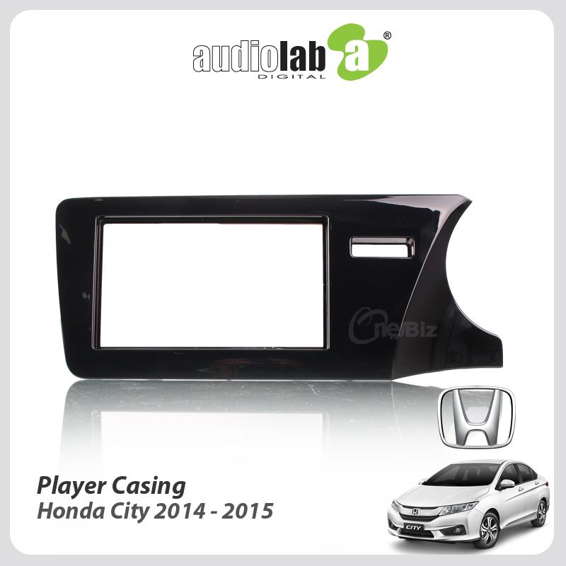 Double Din Car DVD Player Casing Honda City 2014-2015