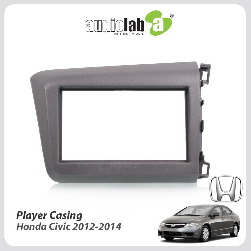 Double Din Car DVD Player Casing For Honda Civic 2012-2014