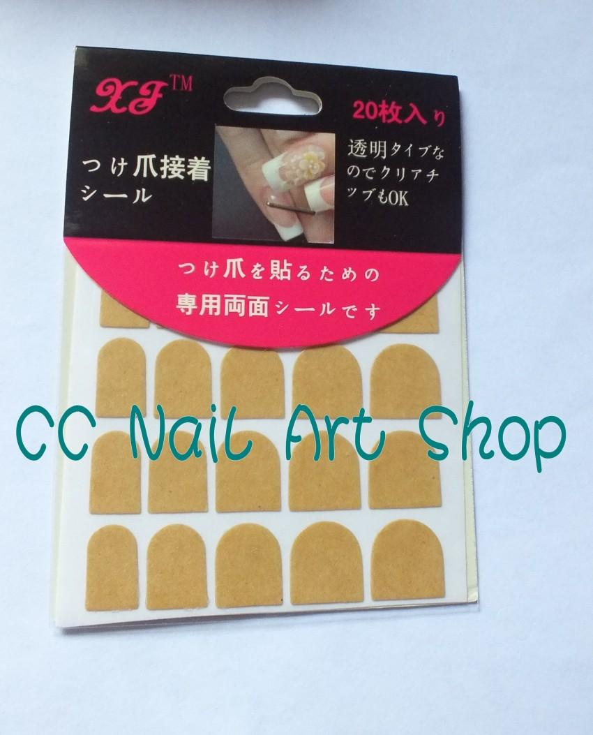 Double side adhesive Tape for false nail tips