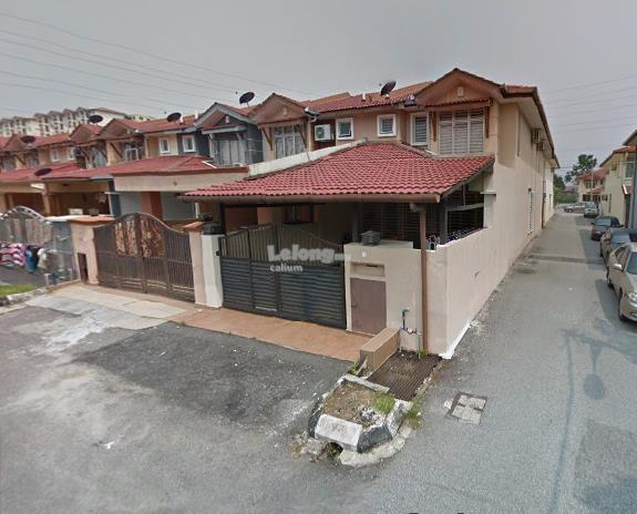 Double Storey End Lot Terrace Link Ukay Bistari Basic Unit 4 Rooms