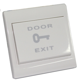 DPB001 Door exit touch button; White